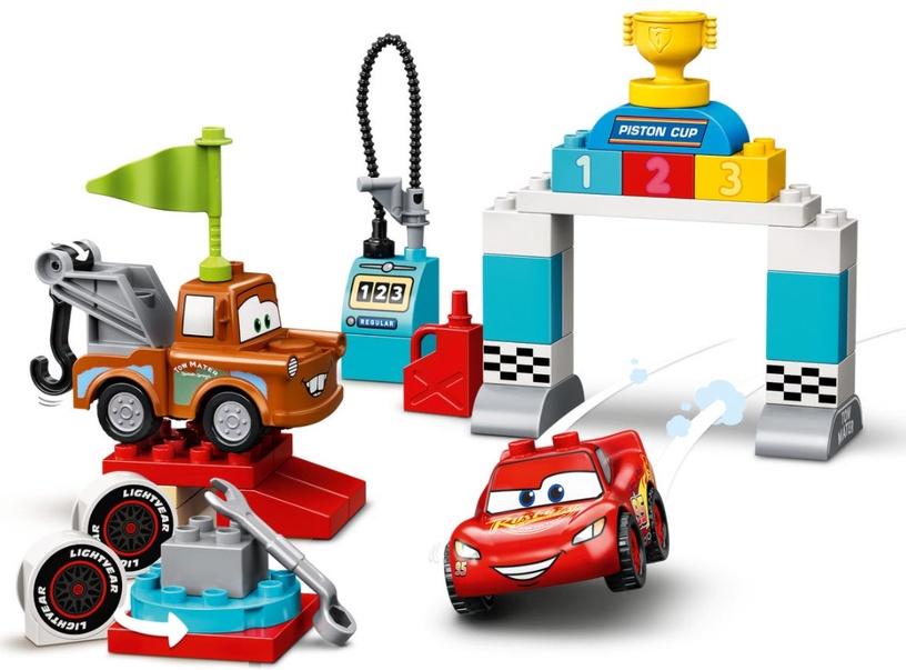 Конструктор LEGO Duplo Disney Lightning McQueen's Race Day 10924 10924, 42 шт.