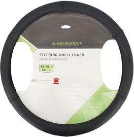 Оплетка руля Carmotion Genuine Leather Steering Wheel Cover 44–46cm Black