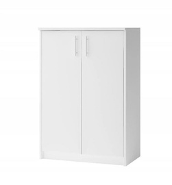 Batų spintelė Idzczak Meble 04 White, 740x350x1100 mm