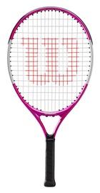 Tennisereket Wilson Ultra Pink, valge/must/roosa
