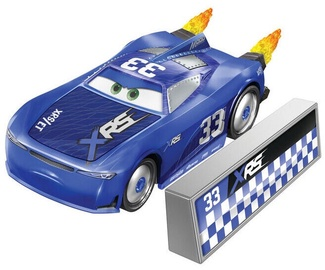 Mattel Disney Cars XRS Rocket Racing Ed Truncan With Blast Wall GNT51