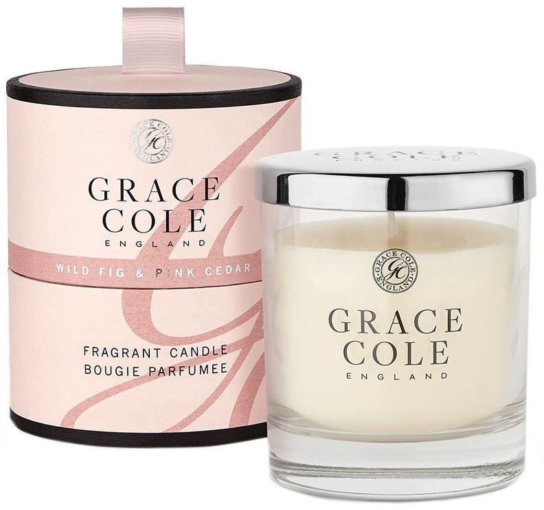 Grace Cole Fragrant Candle 200g Wild Fig & Pink Cedar