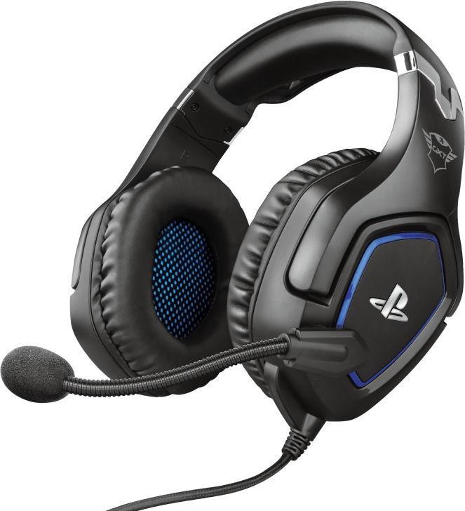 Žaidimų ausinės Trust GXT 488 Forze Over-Ear Gaming Headphones Black