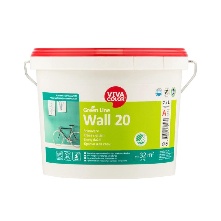 KRASA GREEN LINE WALL 20 A 2,7L (VIVACOLOR)