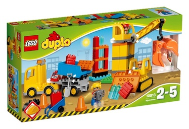 Konstruktors Lego Duplo Big Construction Site 10813
