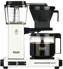 Kapsulas kafijas automāts Moccamaster KBG 741, balta/melna