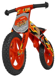 Milly Mally FLIP Wooden Balance Bike Fireman Red 1506