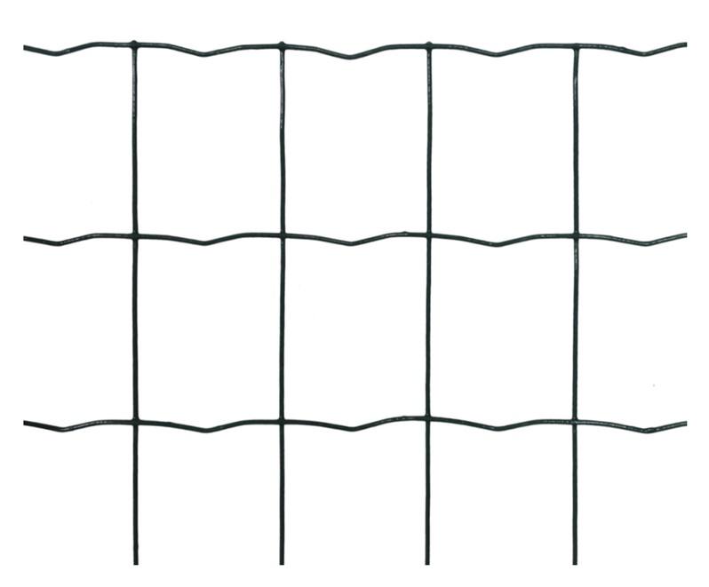 Suvirintas žalias tinklas 2.1 x 100 x 75 x 1200 mm, 25m