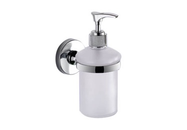 Gedy Felce FE81 13 Wall-Hung Soap Dispenser White/Chrome