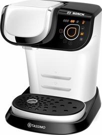 Kapsulas kafijas automāts Bosch TAS6504, balta/melna