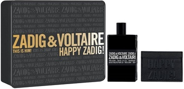 Zadig & Voltaire This is Him! 100ml EDT + Credit Card Case