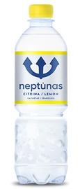 Mineralinis vanduo Neptūnas, gazuotas su citrina, 0,5 l