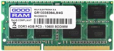 Goodram 4GB DDR3 PC10600 CL9 SO-DIMM GR1333S364L9/4G