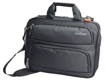 Addison Notebook Bag Black 14.1""