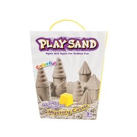 Kinetinio smėlio rinkinys Play Sand su priedais, nuo 3 m.