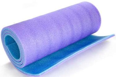 Kempinga paklājs Sportwell, violeta, 1800x500 mm