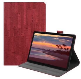 TakeMe Retro Book Case For Samsung Galaxy Tab S4 2018 Red