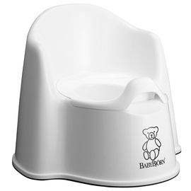 BabyBjorn Potty Chair White 055121A