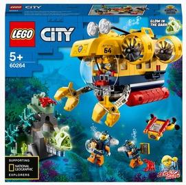 Конструктор LEGO City Океан: исследовательская подводная лодка 60264, 286 шт.