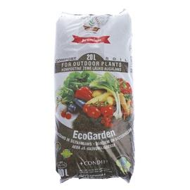 Komposts dārzam un siltumnīcai Ecogarden, 20l