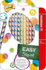 Stabilo Easy Colors Left Handed Pencils 12pcs