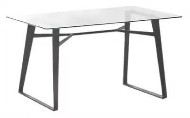 Signal Meble Bolt Table 140x80cm Tempered Glass