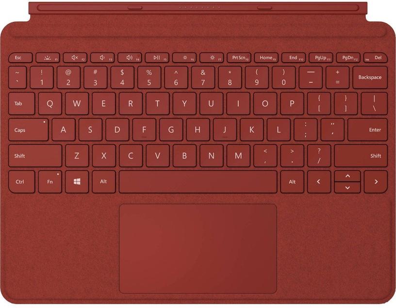 Клавиатура Microsoft Go Type EN, красный, беспроводная