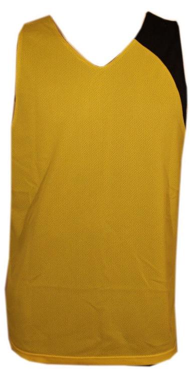 Футболка Bars Mens Basketball Shirt Black/Yellow 173 S