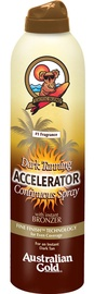 Australian Gold Accelerator Continuous Spray With Bronzer 177ml