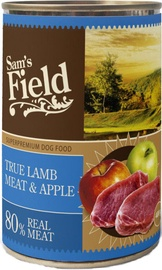 Sam's Field True Meat w/ Lamb & Apple 400g