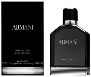 Tualetes ūdens Giorgio Armani Eau de Nuit 100ml EDT
