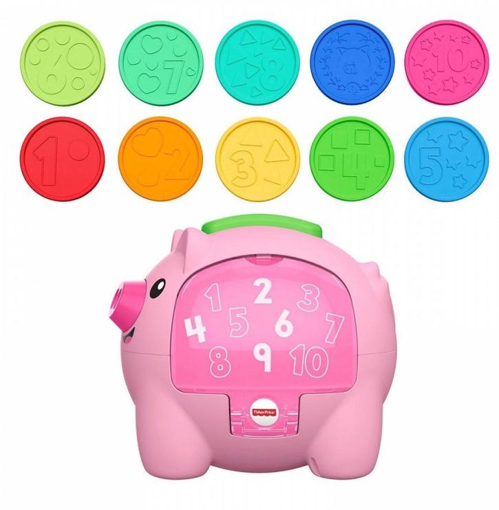 Fisher Price Educational Piggy Bank GJC76