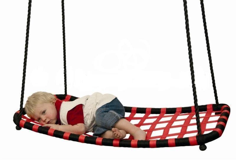 Woodyland Swing Rectangular Red 91404