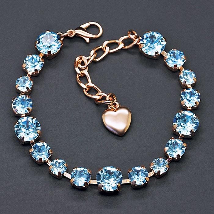 Diamond Sky Bracelet Classic II With Crystals From Swarovski