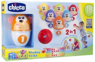 Chicco Monkey Strike Bowling Set 05228