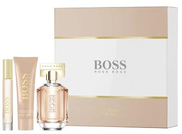 Hugo Boss The Scent For Her 50ml EDP + 7.4ml EDP + 50ml Body Lotion