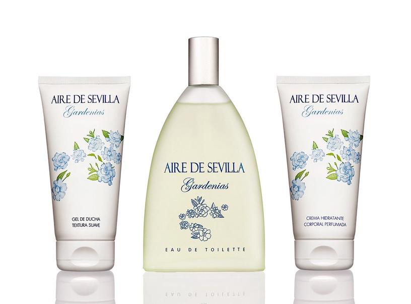 Набор для женщин Instituto Español Aire De Sevilla Agua Fresca De Gardenias 150 ml EDT + 150 ml Body Cream + 150 ml Shower Gel