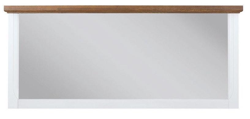 Veidrodis Black Red White Kalio White/Brown, kabinamas, 6.5x60.5 cm