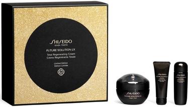 Shiseido Future Solution LX Night Cream 50ml +15ml Cleansing Foam + 25ml Softener