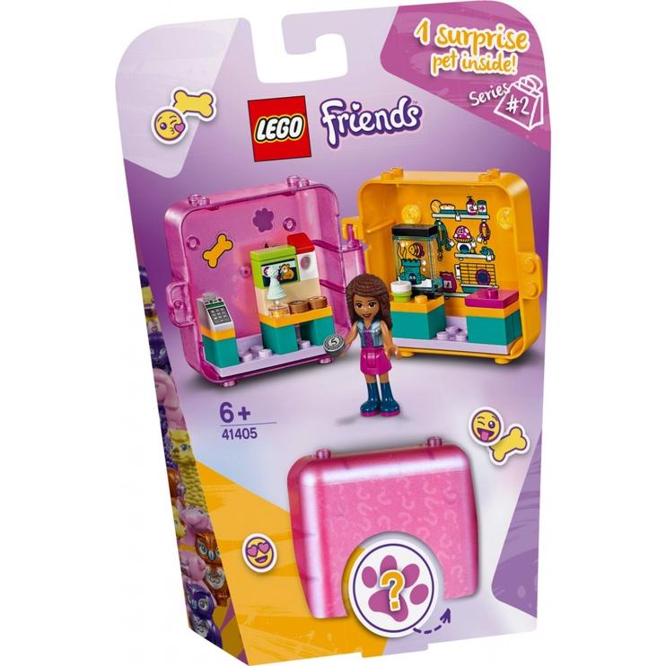 Конструктор LEGO Friends Andrea's Shopping Play Cube 41405