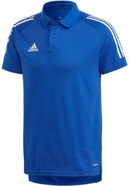 Adidas Mens Condivo 20 Polo Shirt ED9237 Blue M