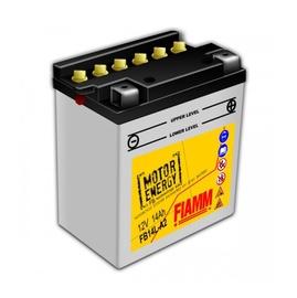 Akumulators Fiamm Moto FB14L-A2, 14 Ah, 150 A, 12 V