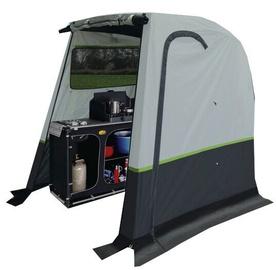 Četrvietīga telts Reimo 936283, pelēka