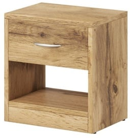 WIPMEB Naka 1S Bedside Table Wotan Oak