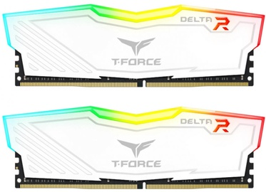 Operatīvā atmiņa (RAM) Team Group Delta RGB White TF4D416G3200HC16CDC01 DDR4 16 GB