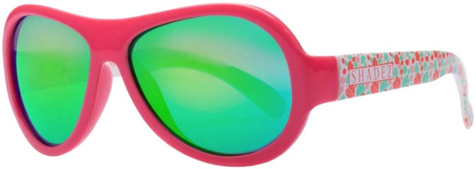 Shadez Designer Leaf Print Junior Pink