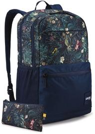 Рюкзак Case Logic Uplink Backpack Tropical/Floral 3204253, синий, 15.6″