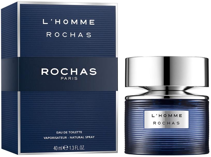 Tualetes ūdens Rochas L'Homme Rochas EDT, 40 ml