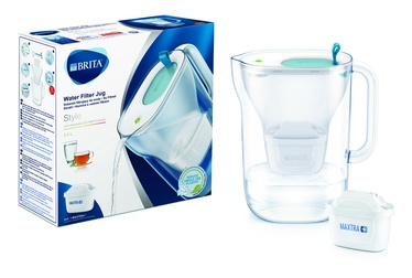 Vandens filtravimo indas BRITA Style 2.4L led, melsvas