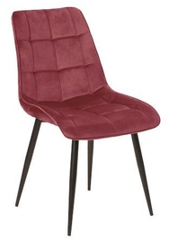 Стул для столовой Signal Meble Chic Velvet Bordeaux, 1 шт.